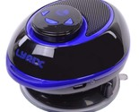 Lyrix Duo 2-in-1 Bluetooth Speaker w/Removable Receiver & Suction Cup Mount (Blu