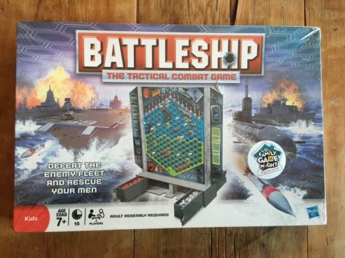 Primary image for HASBRO 2008 Battleship The Tactical Combat Game SEALED