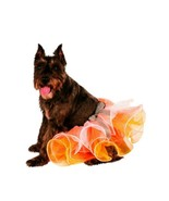 Candy Corn Witch Thanksgiving Fall Costume Tutu Sparkly Orange Yellow Wh... - $2.60