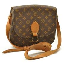 LOUIS VUITTON Monogram Saint Cloud GM Shoulder Bag M51242 LV 10588 No St... - $698.00