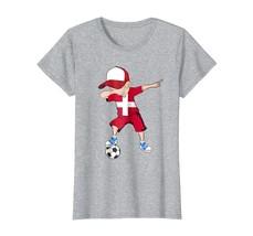 Brother Shirts - Dabbing Soccer Boy Denmark Jersey Tee - Denmark Football Wowen - $19.95+