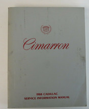 1988 Cadillac Cimarron Factory Service Repair Manual Used OEM - $19.76