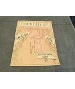 Down Melody Lane For The Magnus Chord Organ 1959 Sheet Music - $7.99
