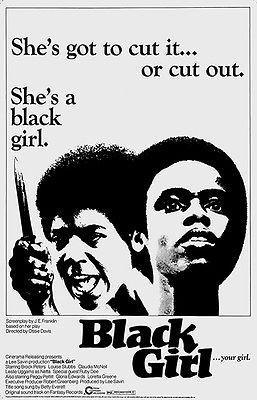 Primary image for Black Girl - 1972 - Movie Poster