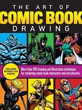 The Art of Comic Book Drawing: More than 100 drawing and illustration te... - $11.96