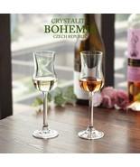 LOULONG® BOHEMIA Czech Republic Crystal Goblet Whisky Glass Fragrance Sm... - $20.69