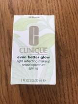 G Clinique Even Better Glow Light Reflecting Makeup SPF15 CN 90 Sand M - $44.73