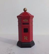 Dept 56 Heritage Village English Post Box Porcelain Accessory Retired #58050 - $16.00