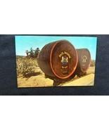 Paul Masson Wine Casks Saratoga Napa Valley, California, CA 1950s  - $5.68
