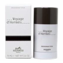 HERMES VOYAGE D'HERMES DEODORANT STICK 75 ML/2.6 OZ. NIB-27526 - $53.96