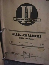 Lot John Deere Shop Manual JD-37, I & T Shop Service ALLIS-CHALMERS Manual - $69.28