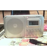 Coby CR-201 Portable AM/FM ShortWave Radio ~~ cord, batteries included - $37.15