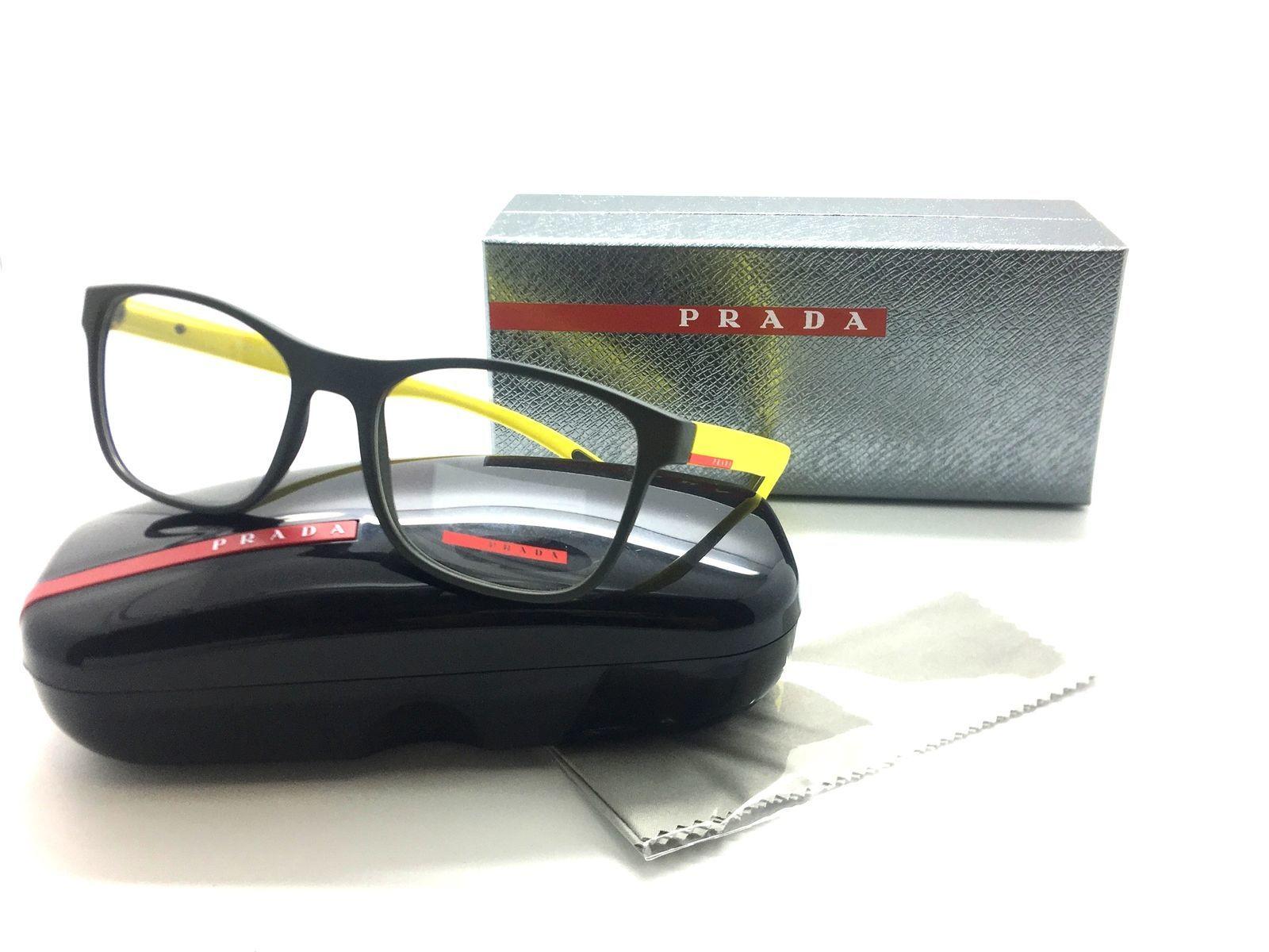 06b1385487f3 Prada Sport Eyeglasses PS 08G 54-18 UR8 1O1 and 50 similar items