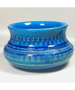 Mid Century Bitossi bowl Rimini Blu Aldo Londi planter MCM vase mothers ... - $178.57