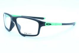 NEW OAKLEY CROSSLINK ZERO OX 8076-0556 BLACK AUTHENTIC EYEGLASSES FRAME ... - $116.40