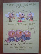 Vintage A Cherry Little Wish for You Greeting Card by Ambassador Cards - $3.99