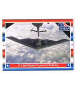 Enduring Freedom Picture Card #48 9-11 B-2 Spirit Bomber Refuels Topps 2001 - $0.94
