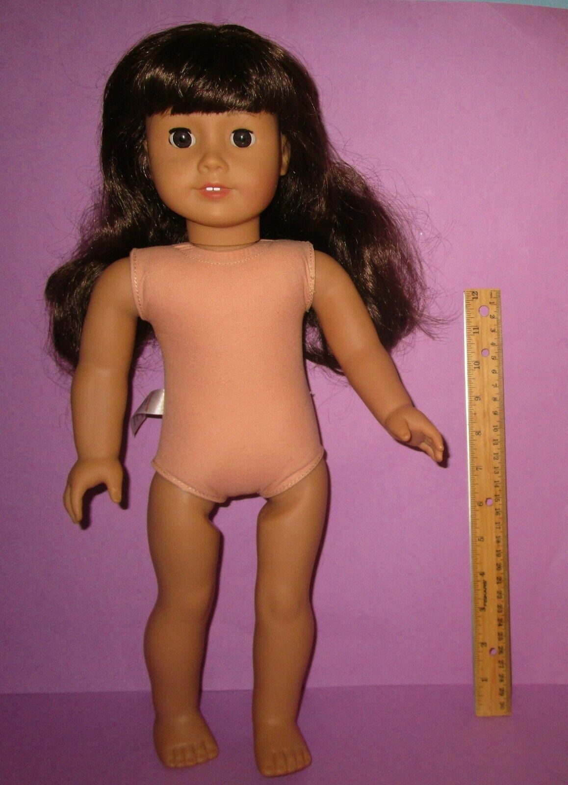 """American Girl 18"""" Truly Me Just Like You Doll #16 Dark Brunette w/ Puppy Dog image 4"""
