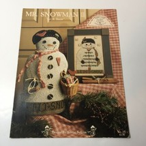 Mr. Snowman 2 Let it Snow Cross Stitch Pattern Book Homespun Elegance - $9.74