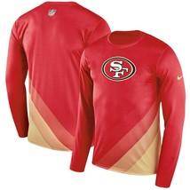 NIKE SAN FRANCISCO 49ers YOUTH MED TO XL SIDELINE LEGEND PRISM NEW NFL S... - $40.05