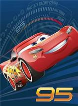 Disney Cars Lightning McQueen Go Lightning Raschel Plush Throw Blanket, Twin Siz - $36.58