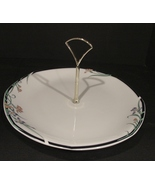 Royal Doulton English Bone China Juno Pattern Serving Plate with w Handle - $7.99