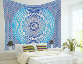 Twin Indian Hippie Decor Mandala Tapestry Wall Hanging Throw Bohemian Be... - $292,42 MXN