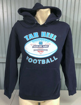North Carolina Tar Heels Small Independence Bowl Hoodie Sweatshirt  - $14.31