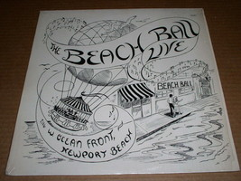 The Beach Ball Live Record Album Vinyl 2116 W. Ocean Front Newport Beach - $74.99