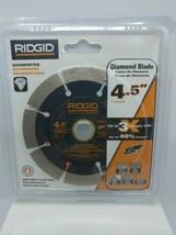 "Ridgid Tools SG45CP 4.5"" Diamond Blade Dry/Wet Cutting *Brand New* - $19.79"
