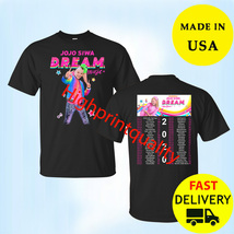 JoJo Siwa Shirt DREAM The Tour' 2020 Men Black T-Shirt Christmas Gift Si... - $23.99+