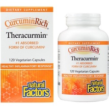 CurcuminRich Theracurmin Supports Joint and Heart Function, 120 Capsules - $76.54
