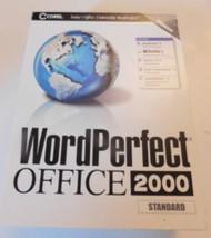 Corel Wordperfect Office 2000 Standard Edition 2000 - $19.79