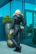 Women's Brand Fashion Hooded Ski Suit Snow Jumpsuit image 4