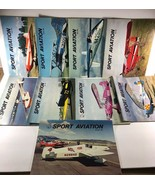 Vintage 9 issues SPORT AVIATION  Monthly Magazine 1968 - $29.69