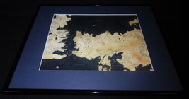 Game of Thrones Map of Weteros Framed 16x20 Poster Display  - $38.91
