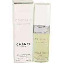 Chanel Cristalle Eau Verte Concentree Perfume 3.4 Oz Eau De Toilette Spray image 1