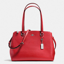 Coach 37782 TURNLOCK Carryall 29 Satchel Crossgrain Leather red stanton ... - $159.00