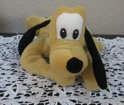 "Disney Pluto Beanbag Plush 9-1/2"" - $7.91"