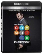 The Commuter [4K Ultra HD + Bluray] [Blu-ray] (Bilingual) - $30.34