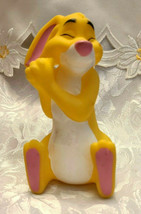 Sitting Rabbit Winnie the Pooh Character Plastic Toy Figure 4 1/2""