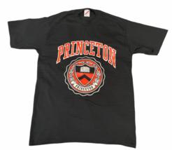 NEW Vintage Black Princeton University T-Shirt Jerzees Made in USA Ivy League L image 1