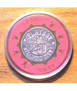 (1) $2.50 Playboy Casino Chip-Rare Pink and Green Chip-Atlantic City, New Jersey - $28.95