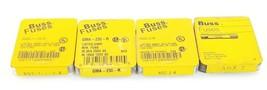 LOT OF COOPER BUSSMANN FUSES AGX-2, AGC-2-R, GMA-250-R, AGC-1-1/2-R