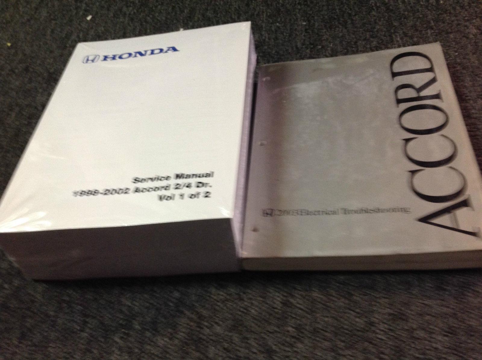 2001 2002 Honda Accord Service Repair And 50 Similar Items