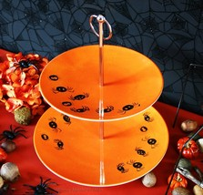 Pottery Barn Kids Halloween Tiered Stand -NIB- A Double Level Of Spooky Treats! - $49.95