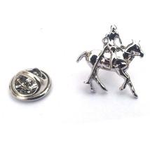Polo Horse & Rider, Equestrian  tie pin, Lapel Pin Badge, in gift box