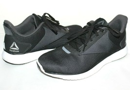 ❤️ Reebok Instalite Lux Black/Gray Mesh Running Shoes 7 M Excellent! L@@K!20 - $23.74