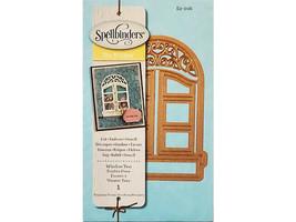 Spellbinders D-Lites Window Two Die #S2-016