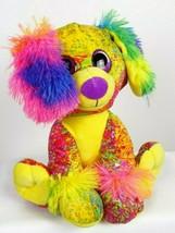 Whimsical Fiesta SCRIBBLEEZ Rainbow Plush PUPPY DOG Doodle Design Stuffe... - $15.76